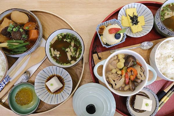 石燕 Shi Yan ☞逢甲商圈美味與質感兼具的日式定食!台中早午餐/甜點下午茶/台中宵夜/複合式餐飲!