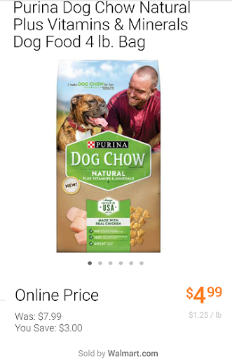 Purina Dog Chow Naturals Dog F...