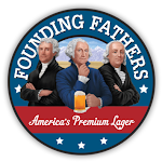 Logo of Founding Fathers Light Beer