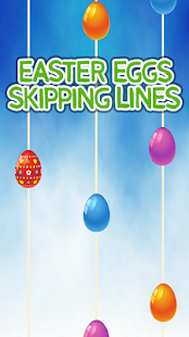 Easter Eggs Skipping Lines - náhled