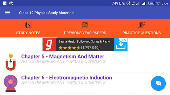 Class 12 Physics Study Materials & Notes 2018-19 - Apps en Google Play