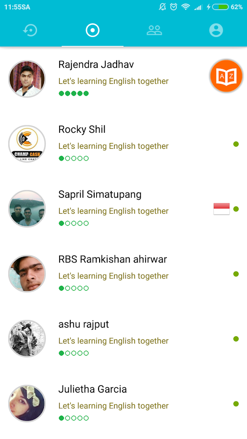 English practice room for people around world on Paltalk ...