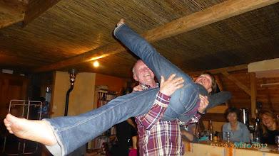 Photo: Hé hop un lancé de Yolande....