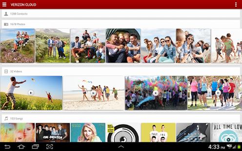 Verizon Cloud for Tablets - screenshot thumbnail