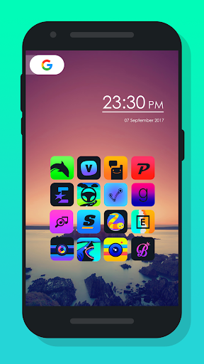 Burm - Icon Pack Додатки для Android screenshot