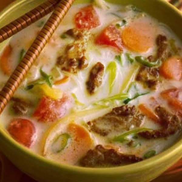 From Instagram: Lemongrass Coconut Noodles With Spicy Chinese Meat Http://instagram.com/p/rhy4swvyol/
