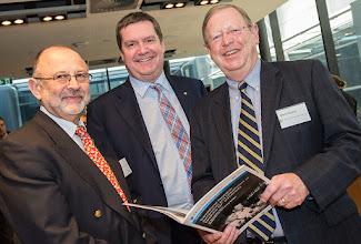 Photo: L-R: Graham Jenkin, Euan Wallace and Glenn Bowes.