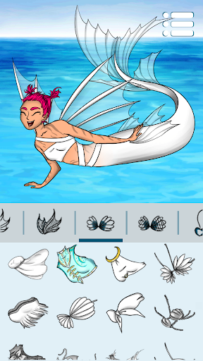 Avatar Maker: Mermaids screenshot 2