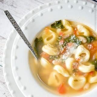 Tortellini Vegetable Soup.