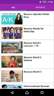 Russian Conversation Courses - náhled
