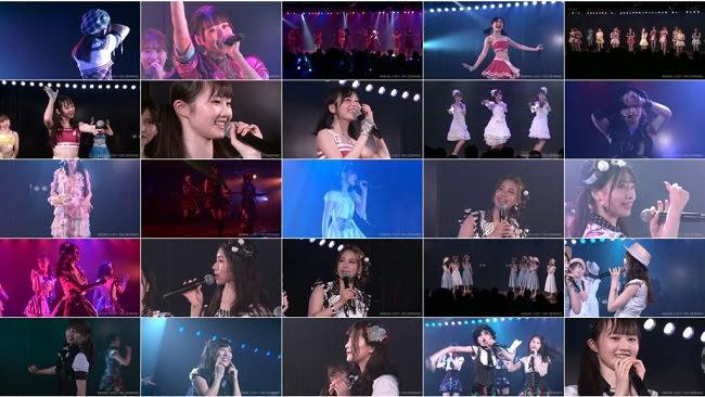 [TV-Variety] AKB48 岩立チームB「シアターの女神」公演 1300 & 1700 (2019.09.07)