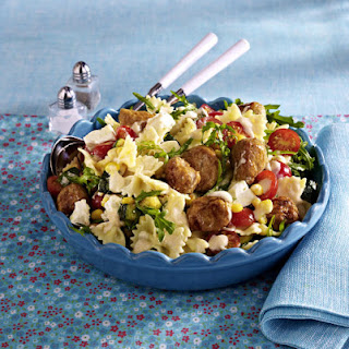 Pasta Salad With Veal Meatballs