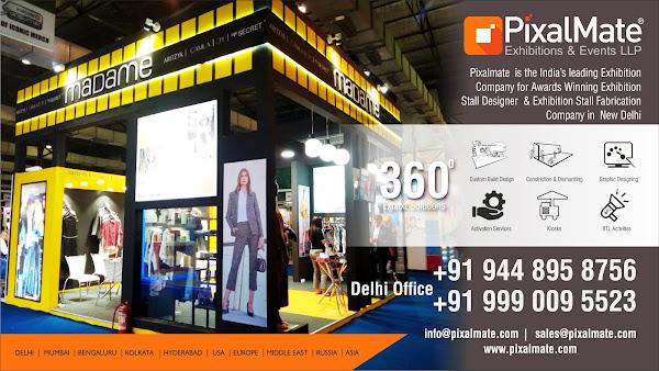 Exhibition Stall Designer In Kolkata : Pixelmate exhibition stall designer delhi