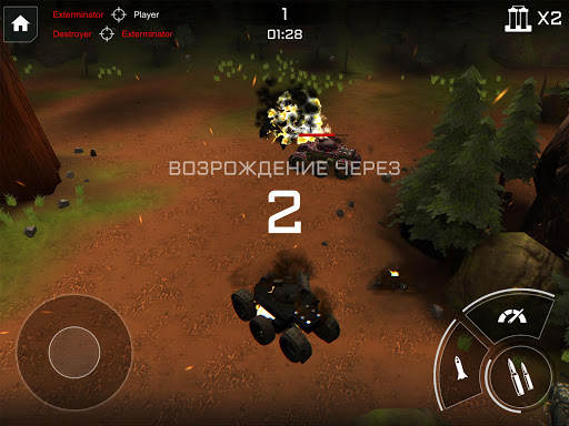 Télécharger Iron Battle Age: Танки vs Роботы APK MOD (Astuce) screenshots 5