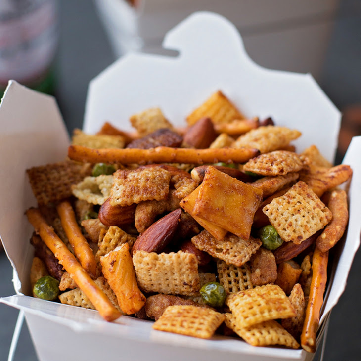 Sweet & Spicy Asian Snack Mix Recipe