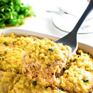 Chicken Enchilada Rice Casserole.