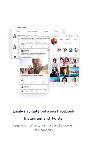 Social One - Facebook, Instagram & Twitter 3.0.1_0_release screenshots 2