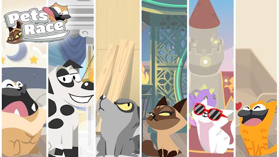 Pets Race – Fun Multiplayer PvP Online Racing Game 12