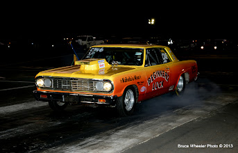 Photo: Bernie Cordeiro's Chevelle on Friday. He crashed it the next day, pictures further on in this album.