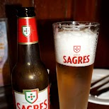 Sagres Portuguese beer at Dragon in Macau in Macau, , Macau SAR