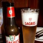 Sagres Portuguese beer at Dragon in Macau in Macau, , Macau SAR