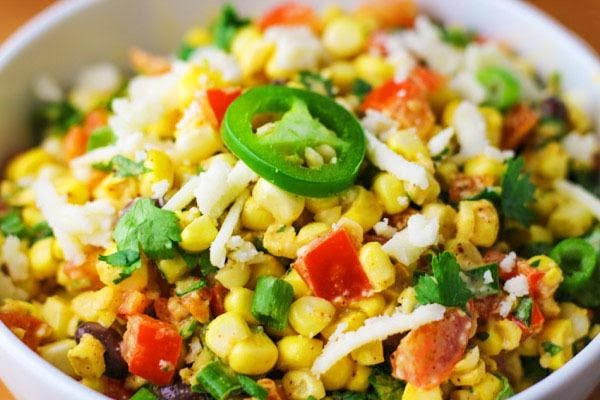 Mexican Street Corn Salad (sallye) Recipe