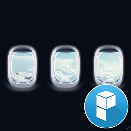 Plane Window Launcher Theme