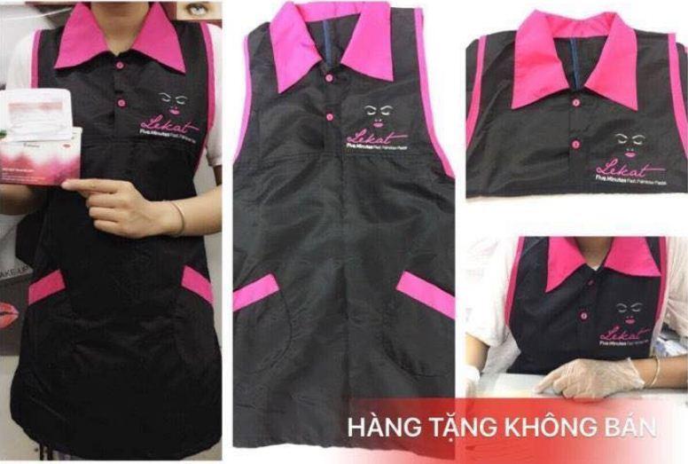 áo phun xăm thẩm mỹ chuyên dụng lekat