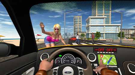 Taxi Game APK screenshot thumbnail 2