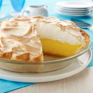 Creamy Lemon Meringue Pie.