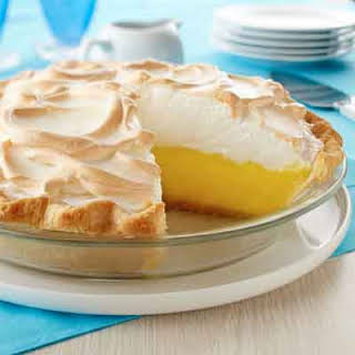 Creamy Lemon Meringue Pie.