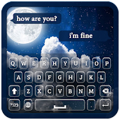 Moon Keyboard Theme Android APK Download Free By Word Flow Keyboard