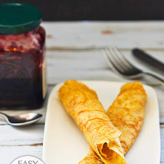 Whole Wheat Crepes – Easy French Pancakes