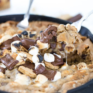 Skillet S'mores Cookie.