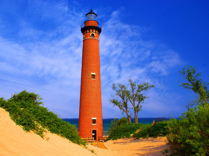 Charles Mears State Park Lighthouse