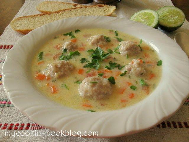 Супа Топчета с домати