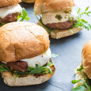 Grilled Pesto Turkey Burgers Recipe