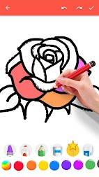 How To Draw Flowers APK screenshot thumbnail 7