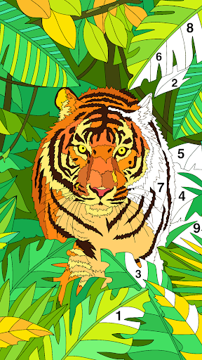 Coloring Book - Color by Number & Paint by Number screenshot 21
