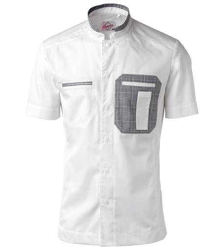 Bagarskjorta kort ärm