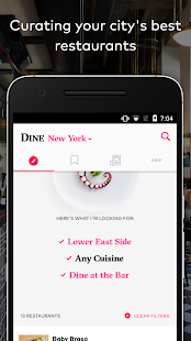 DINE by Tasting Table- screenshot thumbnail