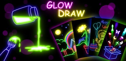Glow Draw - Apps on Google Play