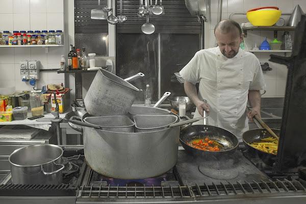 Macchie di colore in cucina di si
