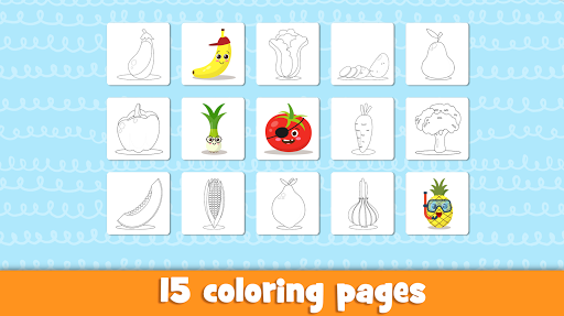 Learn fruits and vegetables - games for kids  screenshots 5