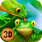 Frog Survival Simulator 3D Icon
