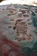 Photo: Map of the ancient Roman city of Zippora Israel.