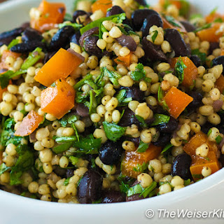 Sorghum Black Bean Salad