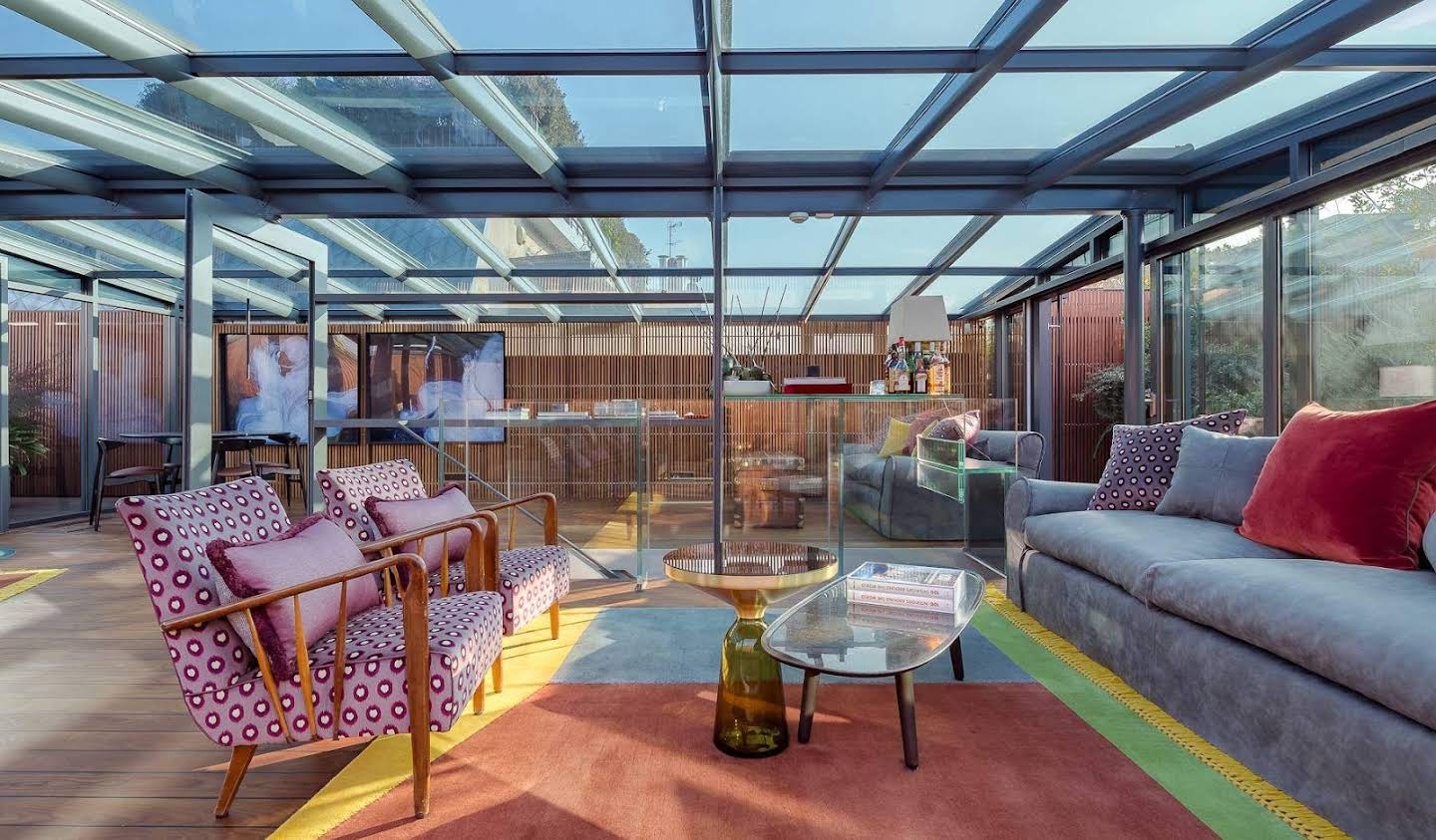 Apartment with terrace Milan