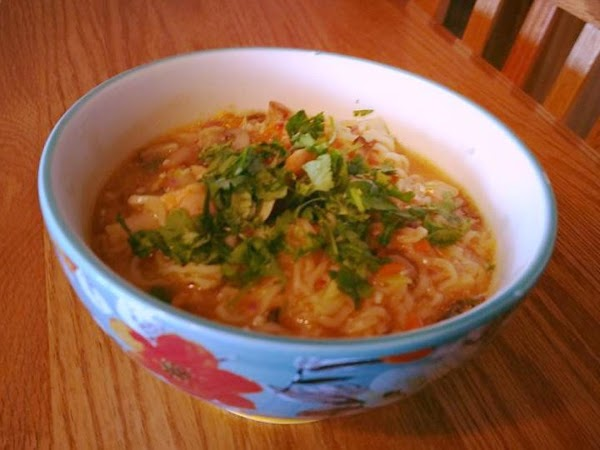 Sriracha Chicken Ramen Recipe