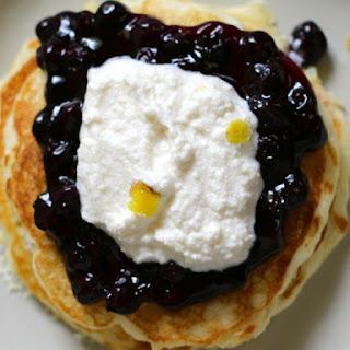 IHOP Blueberry Ricotta Pancakes
